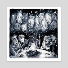 A Seance  - Canvas by Ashley McCammon