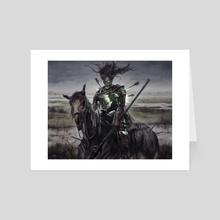 Murderous Rider - Art Card by Josh Hass