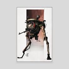 Soviet Dread-Walker - Canvas by Tom Harrison