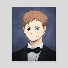 Yaku HQ Senior Portrait - Canvas by bionyo