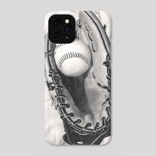 Baseball - Phone Case by Aurelia Chaintreuil