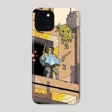 Dead End on the Tomb World - Phone Case by Logan Stahl