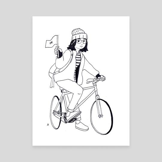 bike ride  by JOYCE