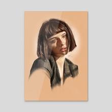 Alice - Acrylic by Stu Chapman