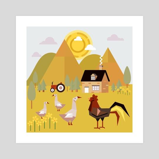 Village 5 by Michal Eyal