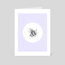 sheepee in a circle - alternative print - Art Card by Catarina Ferreira