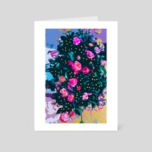 Lovely Secret - Art Card by 83 Oranges