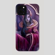 Blood Queen - Phone Case by Vulpsie