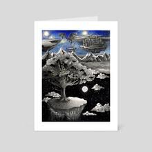The Birth of a New World - Art Card by Inna Rafalska