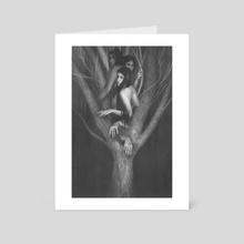 Sisters - Art Card by Lenia Platania
