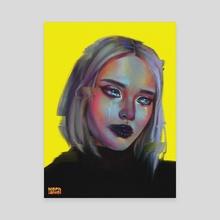 glitch - Canvas by Andrea Mephiane