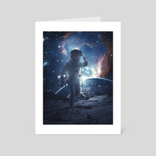 Moon Walk - Art Card by Marischa Becker