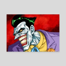 The Joker - Canvas by KinzokuMatto