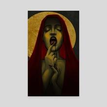 Maria Satanica - Canvas by Linz Thorne