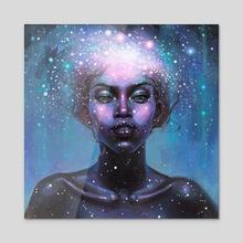 Genesis - Acrylic by Tanya Shatseva