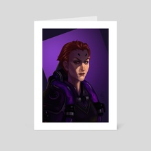 Moira - Art Card by Mali Ware