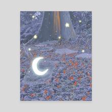 Crescent Glow - Canvas by Mikki Williams