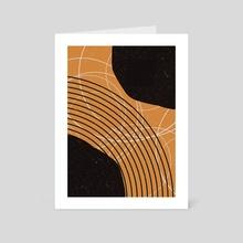 Abstract Geometric Art 07 - Art Card by 1X NewArt