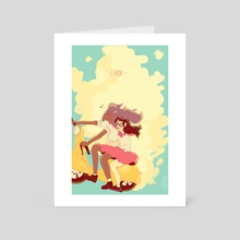 ride - Art Card by Paradise Invite