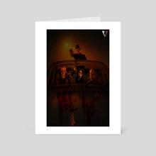 The Sober Killer  - Art Card by Samuel Iniguez