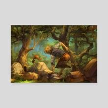 Leilan 2 - Canvas by Alea - Amandine LEFEVRE