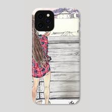 Alena in Brooklyn - Phone Case by Vin Ganapathy