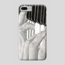 Piano - Phone Case by Aurelia Chaintreuil
