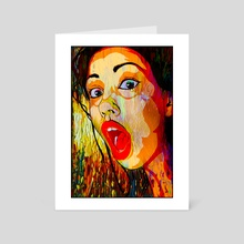 What? - Art Card by Dmitry Payvin