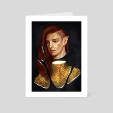 (Tolkien) Shattered king - Art Card by Yi Jong