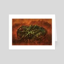 Biomek - Art Card by Tony Hough