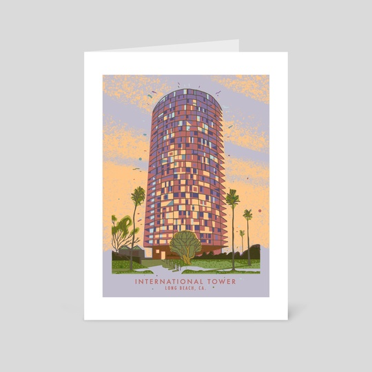 International Tower, Long Beach, CA by Jordan Lance