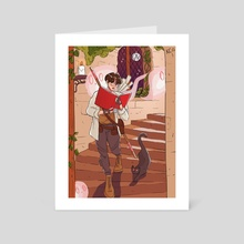 explore jungkook - Art Card by kc (peachkco)