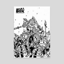 SKULLBOX Doppelganger Mosh Pit - Canvas by Shardstone