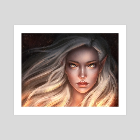 Aelin Galathynius by Ally