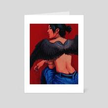 wings - Art Card by jinglejude