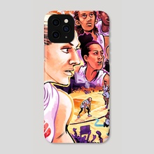 WNBA All Stars 2019 - Team Delle Donne - Phone Case by Kevin Czap