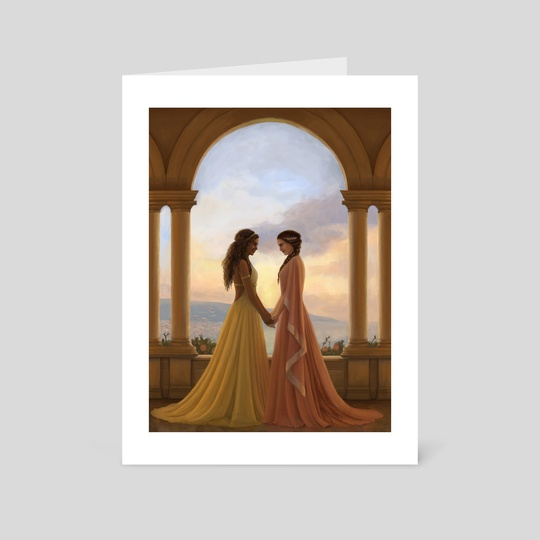 Sunset Lovers by Becky Hall