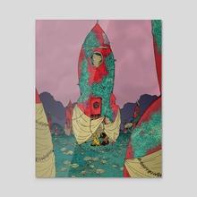 Descendants - Acrylic by Ben Evans