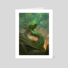 King of the Forest - Art Card by Even Mehl Amundsen