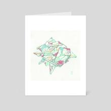 Duel - Art Card by Jaime Hernandez