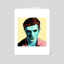 Starman - Art Card by Marcus Tate