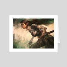 Crippling Blight - Art Card by Lucas Graciano