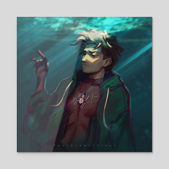 Drowning Hero  by Roos Plattje