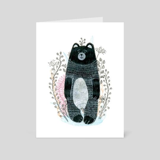 black bear by Anna Szostek