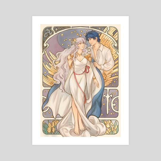 Sigurd and Deirdre by Tamafry