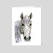 Horsey - Art Card by Daria Popova