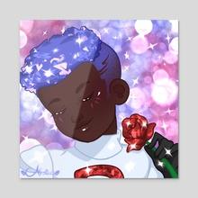 Team Rocket { James } - Acrylic by Afrolista