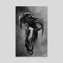 Bio Mech 01 - Canvas by Rafael Rivera