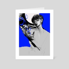 Taehyung - Art Card by Shannon