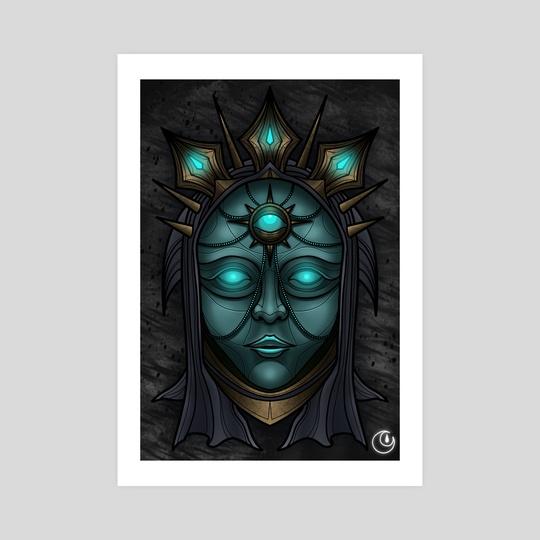 Ancient Mask by DarkLetter Books